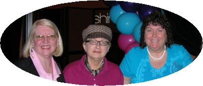 Jeanette Cates, Cathy Goodwin, Connie Ragen Green