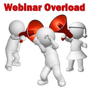 webinar overload
