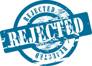 rejected writer