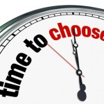 Time to Choose - Clock Reminds to Decide