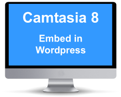 embed Camtasia 8 into WordPress