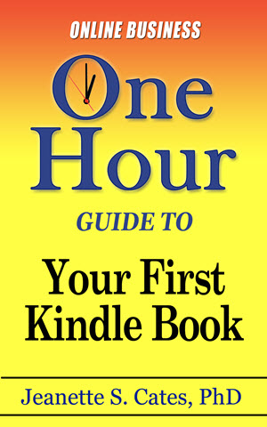 Your First Kindle Book